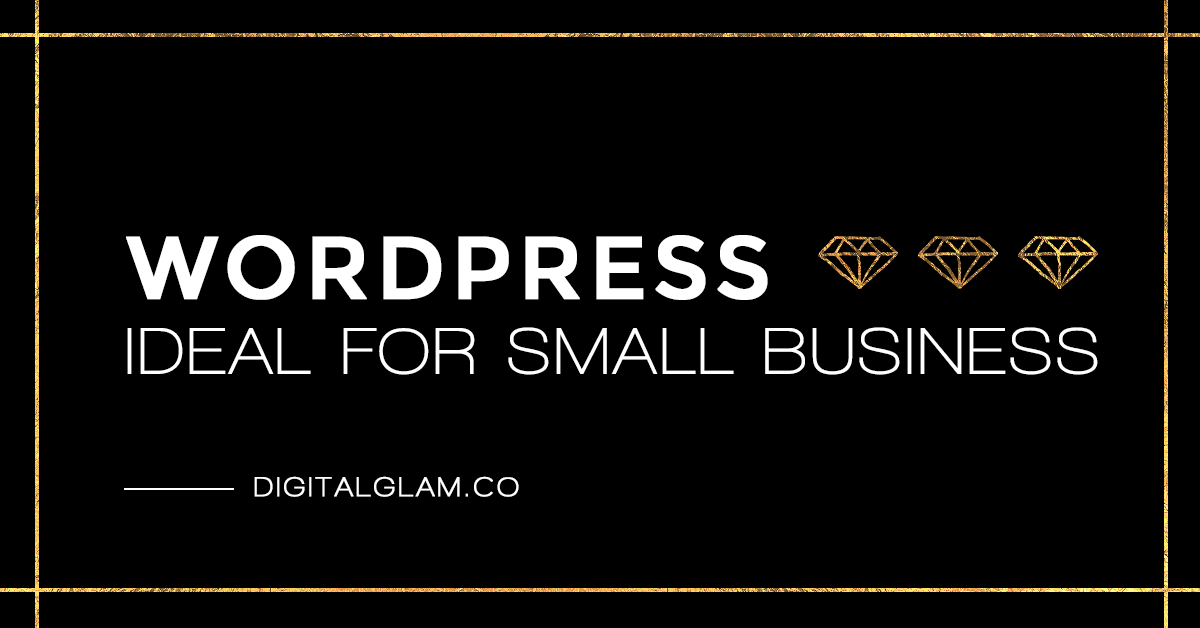 WordPress - ideal for small business