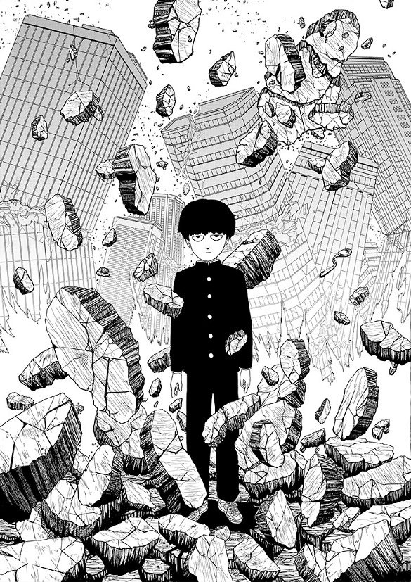 Mob 100 One manga