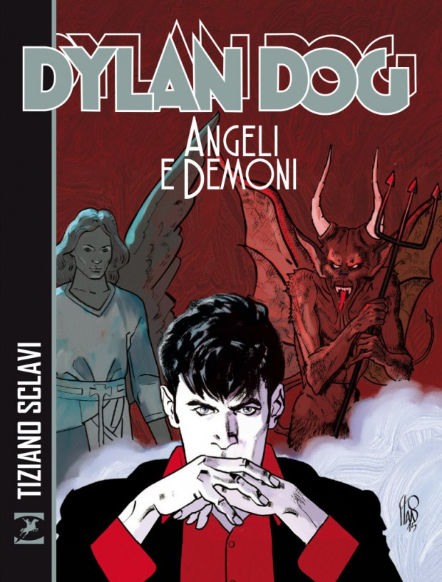 copertina dylan dog Angeli e Demoni-