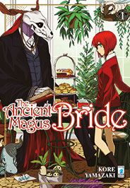 "La copertina italiana di ""The ancient magus bride"""