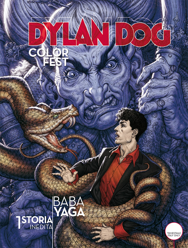 Dylan Dog Color Fest 17_cover