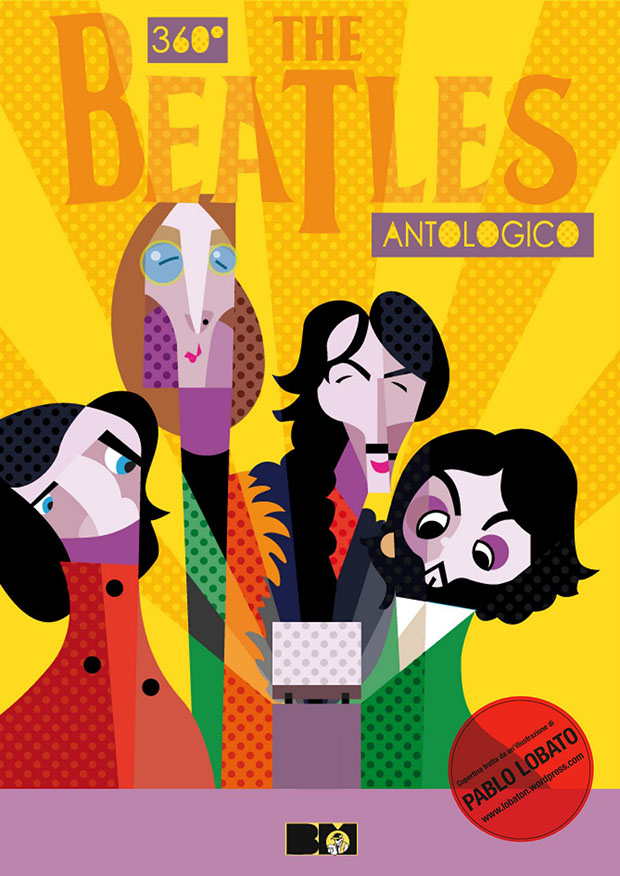 "Copertina di ""360° The Beatles Antologico""."