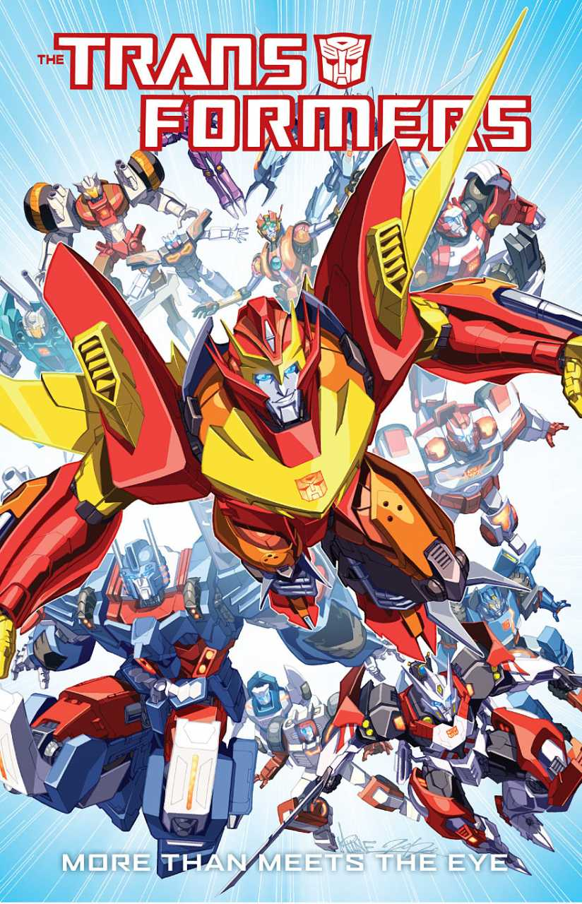 Transformers: More Than Meets The Eye #1.