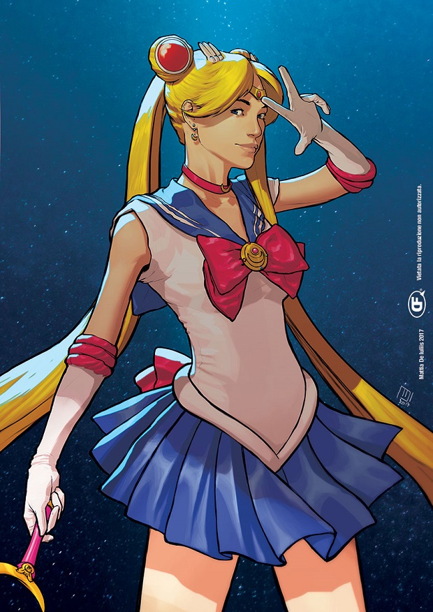 Sailor Moon di Mattia De Iulis