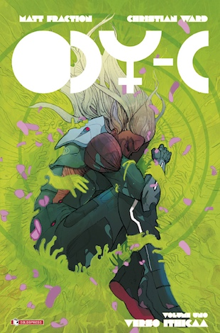 "Copertina di ""ODY-C"" di Matt Fraction e Christian Ward."