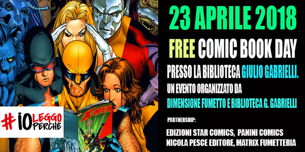 Dimensione Fumetto presenta: FREE COMIC BOOK DAY