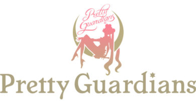 "Logo di ""Pretty Guardians - Sailor Moon Official Fan Club""."