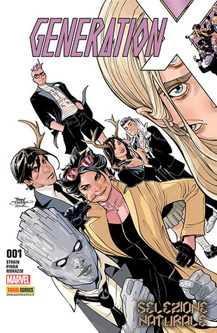 Cover di X-Men - Generation X del primo volume italiano.