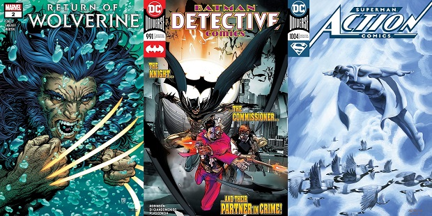 Wednesday Warriors #8 da Detective Comics a Spider-Gwen