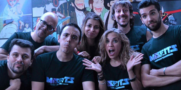 Cartoon Music Contest Lucca C&G: The Misfits spaccano!