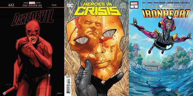 Wednesday Warriors #12 – Da Heroes in Crisis ad Amazing Spider-Man