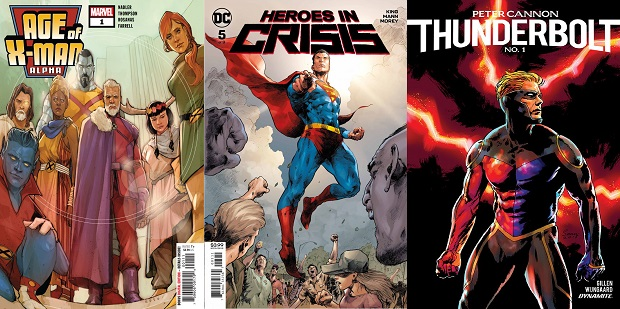 Wednesday Warriors #19 – Da Heroes in Crisis a Age of X-Men
