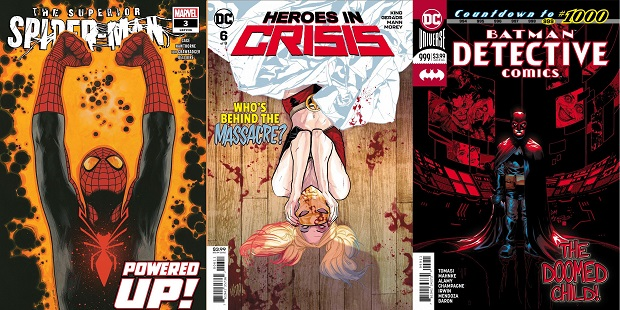 Wednesday Warriors #23 – da Heroes in Crisis a Superior Spider-Man