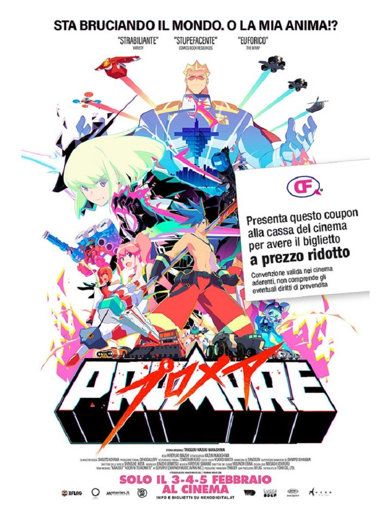 coupon sconto promare