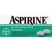 Griep - Verkoudheid: Aspirine