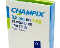 Champix starterkit 0.5 mg 11 tabl. and 1 mg 14 tabl.