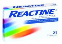 Allergie: Reactine
