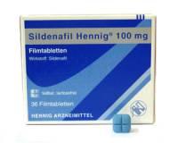 Erectiestoornis: Sildenafil Hennig