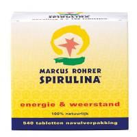Vermoeidheid: Spirulina Marcus Rohrer