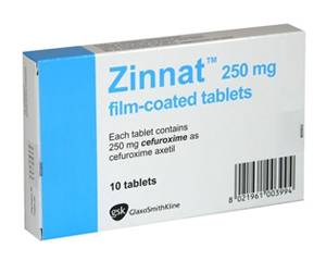 Zinnat | Cefuroxim | Course of antibiotics | Cystitis