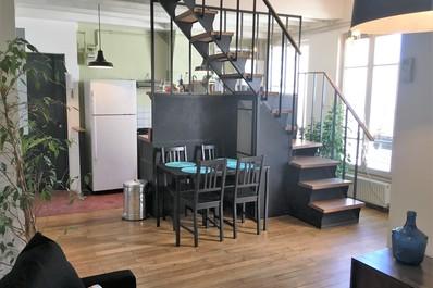 Stylish Duplex @ Canal de L'ourcq/Parc la Villette