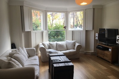 Spacious 3bed garden flat close to King's Cross
