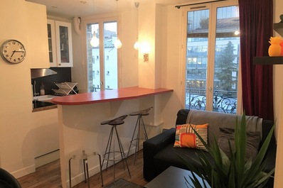 Cosy 1bdr Flat Idealy located Next to Pte Maillot
