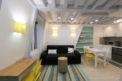 Charming & Quiet Duplex In the Heart of Le Marais // Charming Duplex Heart of Le Marais sur BOOKING.COM