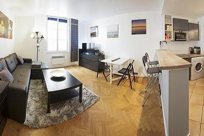 Modern 1 Bdroom Flat in Trendy Le Marais/Beaubourg