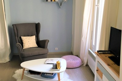 Charming & Bright Flat near by Porte Maillot