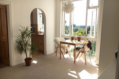 London Skyline view! 1bed flat in Hampsted Heath