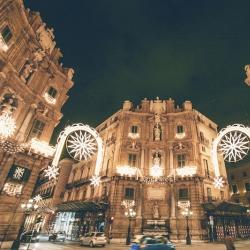 Palermo, tripudio d'Italia