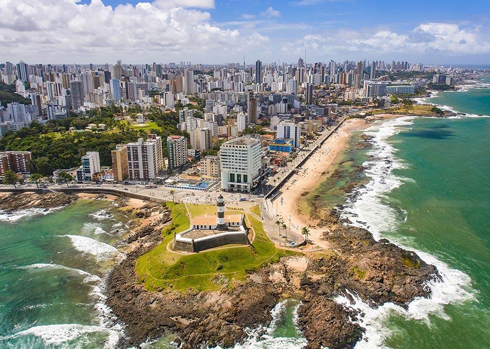 Salvador de Bahia, nata da un bell'insediamento coloniale portoghese sul mare, è la terza città più popolosa del Brasile, con quasi 3 milioni di abitanti ©jeilson / iStockphoto / Getty Images