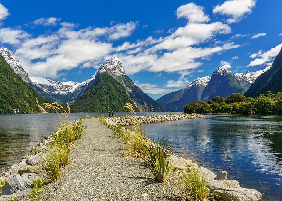 Ottava meraviglia del mondo? Secondo Rudyard Kipling era il Milford Sound, sulla costa occidentale della South Island, in Nuova Zelanda © Marconi Couto de Jesus / Shutterstock