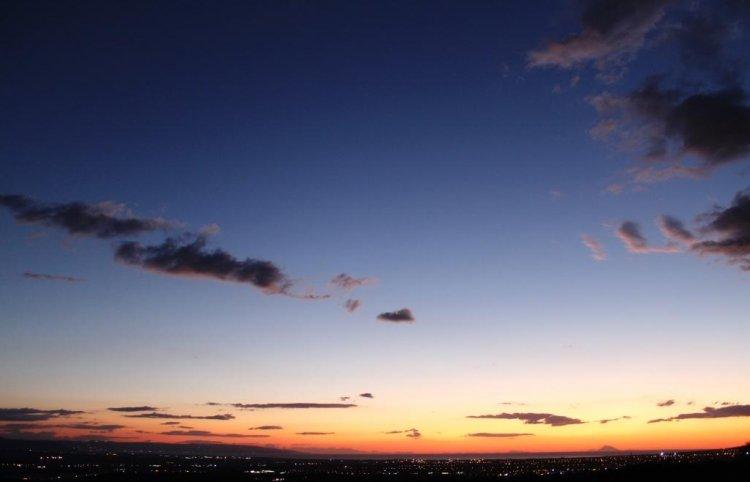CALABRIA_Il cielo sul golfo di Sant'Eufemia