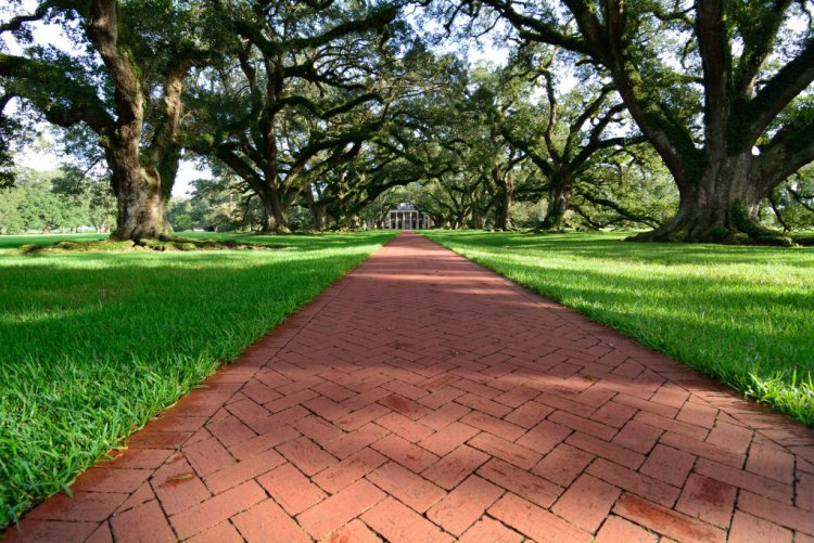 Vacherie LA - Oak Alley Plantation
