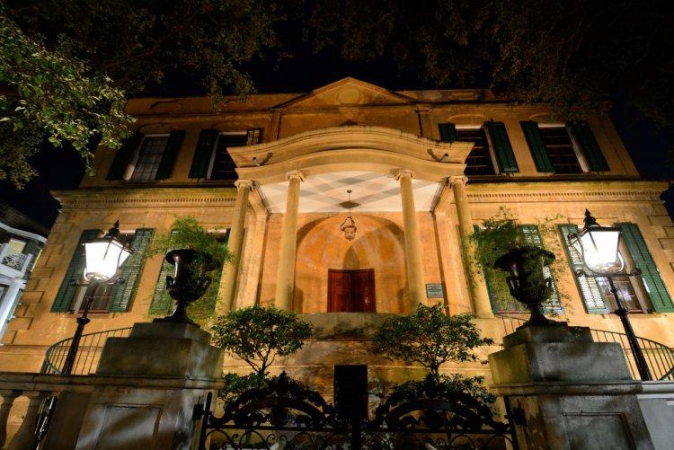 Savannah - Owens Thomas House by night