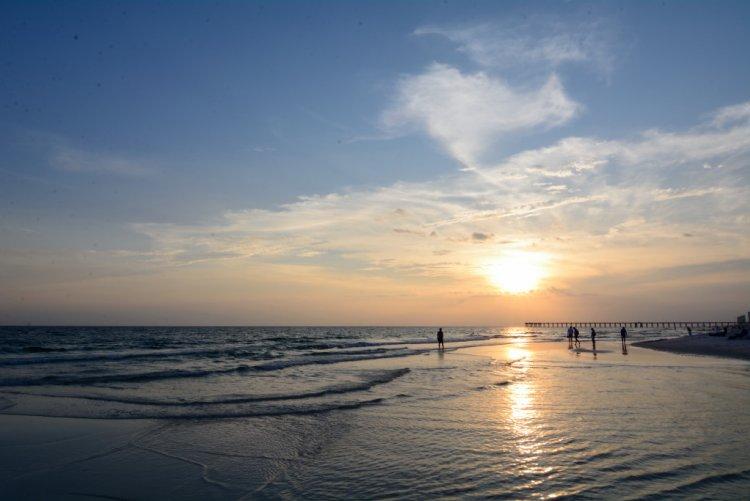 Sunset a Panama City Beach