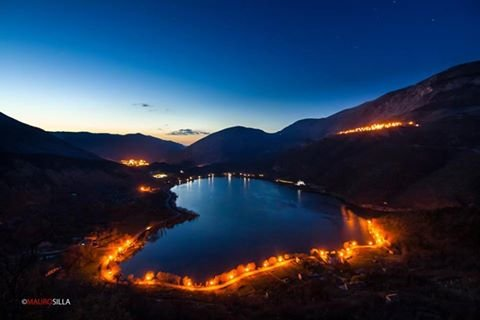 LAKE OF SCANNO