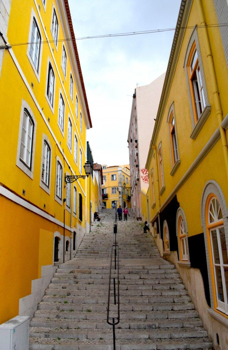 Yellow. Lisbona, Ottobre 2017
