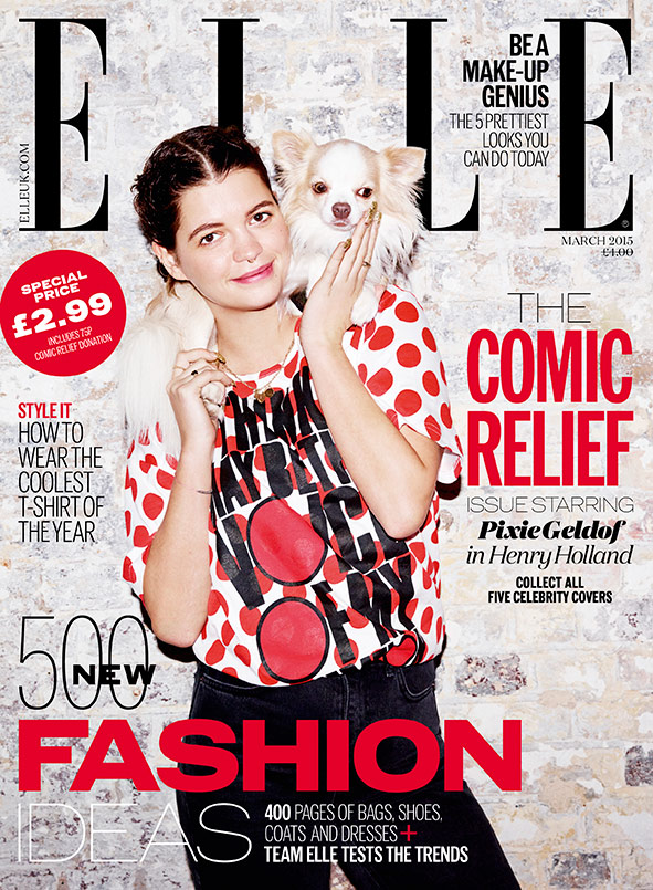 Pixie Geldof Comic Relief Red Nose Day cover