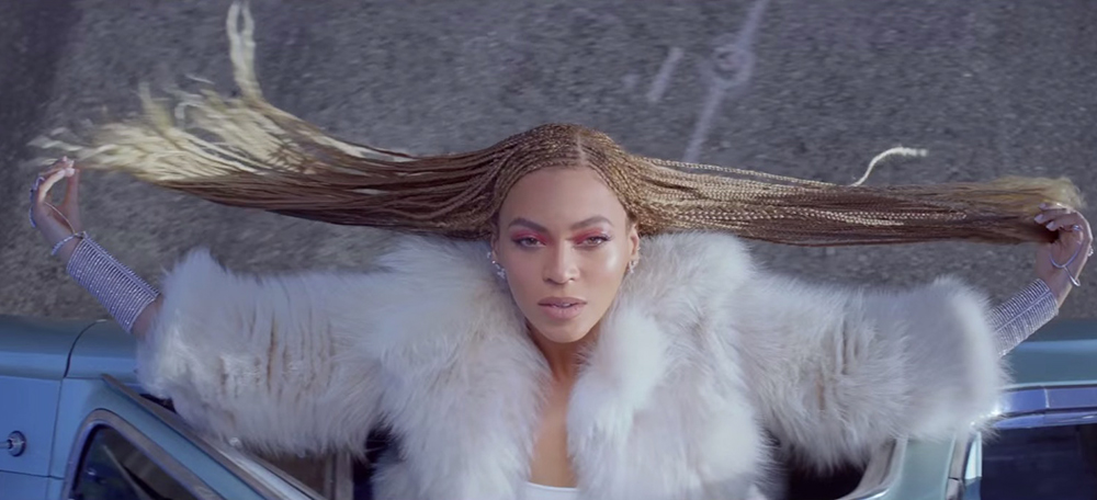 Beyonce formation video braids