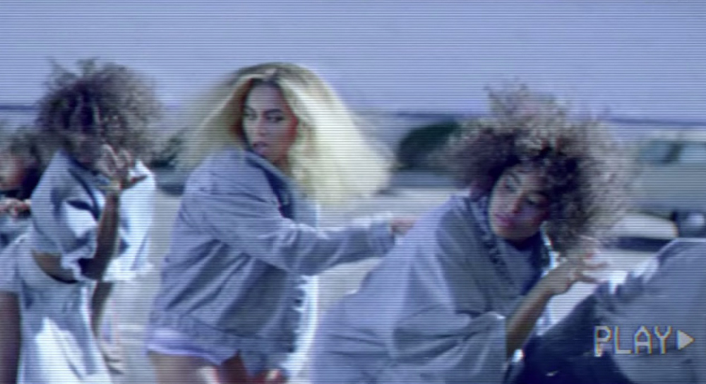 beyonce formation video crimped hair