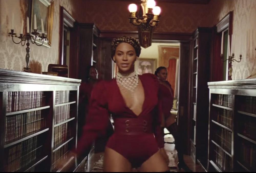 Beyonce formation video crown braids hair