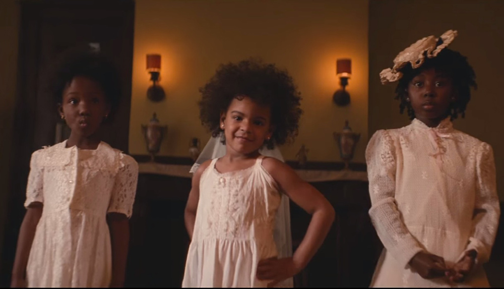 Blue ivy beyonce formation video natural afro hair