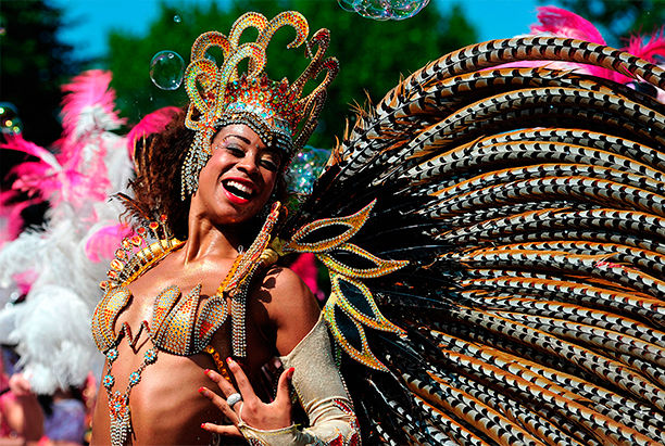 Bank holiday weekend: Notting Hill Carnival as featured by ELLE mag