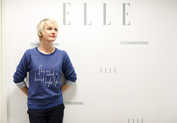 Lorraine Candy, Editor-in-Chief, Elle Magazine. Photo by Victoria Adamson