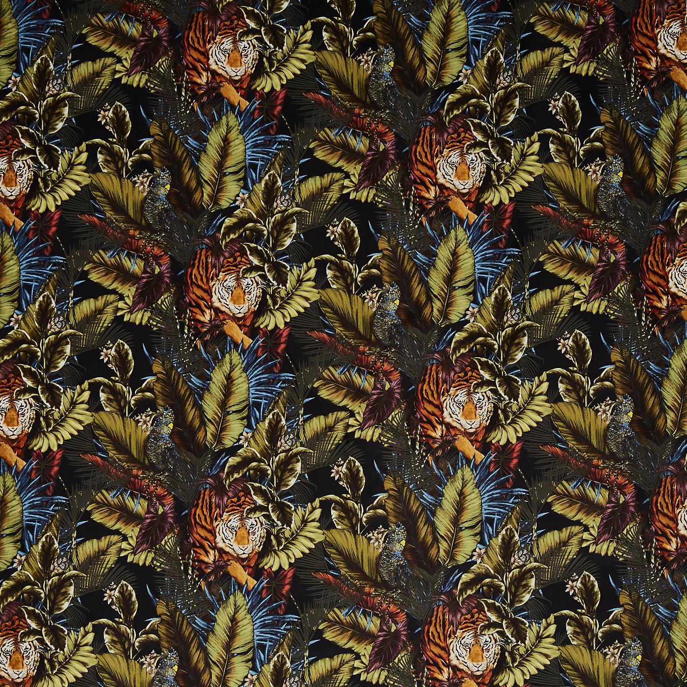 Safari Made to measure roman blind in prestigious textiles Tiger Ivory fabric