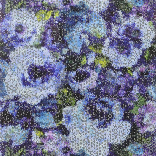 Designers Guild  floral Fabric Mattiazzo Damson Cushion Cover
