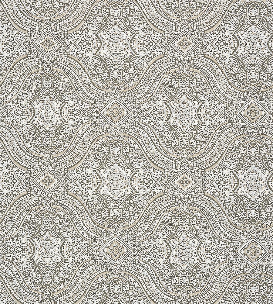 Block Print Wallpaper tulsi block print - natural wallpaper | caravan | thibaut
